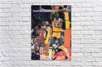 1983 Magic Johnson LA Lakers  Acrylic Print