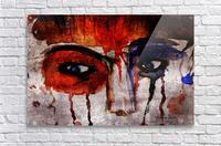 Life through her eyes  Acrylic Print