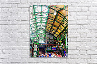 Roof Over Borough Market  Acrylic Print