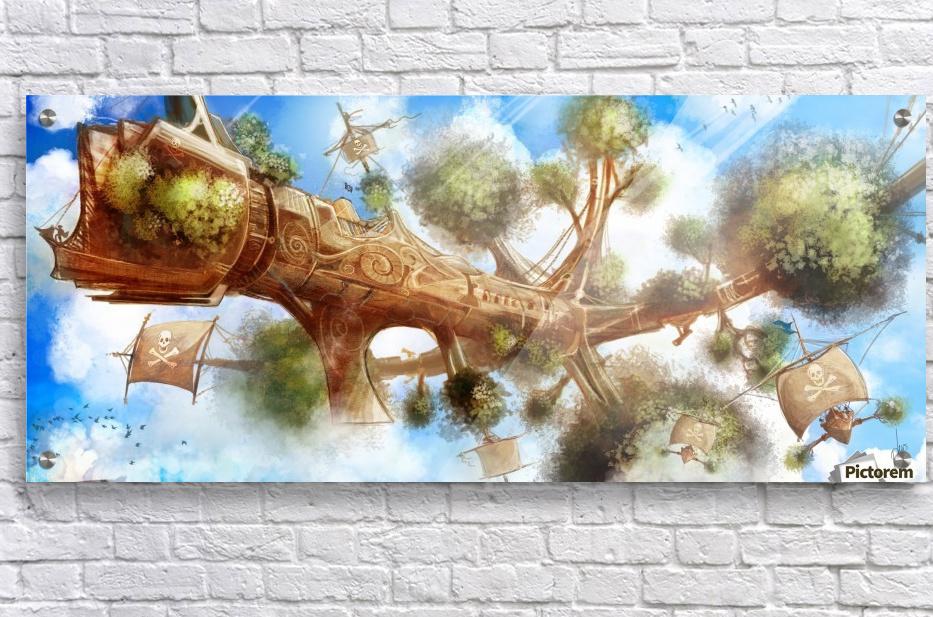 Tree Ship  Acrylic Print