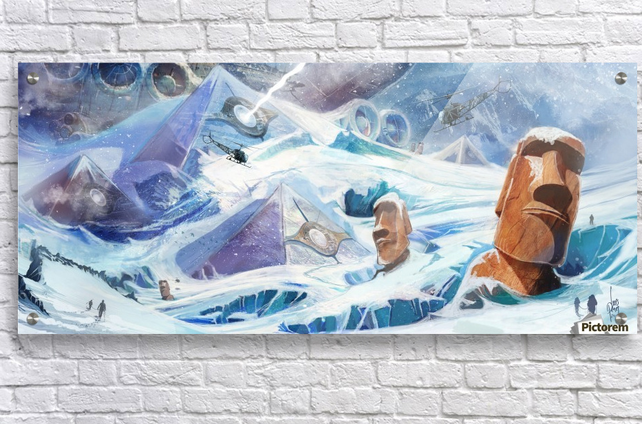 Lost Antarctida  Acrylic Print