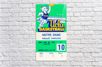 1983 notre dame ucla bruins college basketball  Acrylic Print
