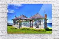 Cabines de plage  Acrylic Print