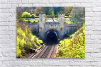 Clayton Tunnel in Sussex England  Acrylic Print