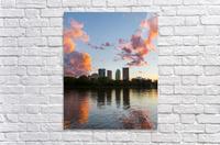 Winnipeg Sunset  Acrylic Print
