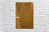 Bending Light on Brick  Acrylic Print