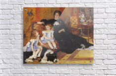 Madame Charpentier and her children  Acrylic Print