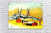 Hot summer in Erda  Acrylic Print