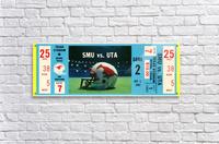 1983_College_Football_SMU vs. UTA_Texas Stadium_Dallas  Acrylic Print