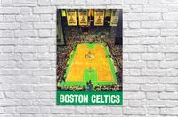 1988 Boston Celtics Boston Garden Art  Acrylic Print