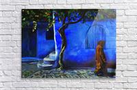 Blue city  Acrylic Print