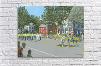 Labor Day Parade - Newtown Series 14X18  Acrylic Print