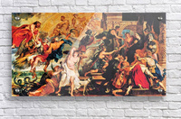 Medici s and the Apotheosis of Henry IV by Rubens  Acrylic Print