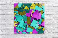 abstract flow art  Acrylic Print