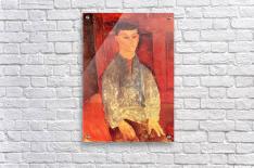 Modigliani - Portrait of Moise Kisling -3-  Acrylic Print