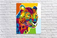 The Colorful Leopard  Acrylic Print