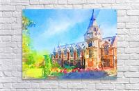 Pembroke collegeCambridge  Acrylic Print