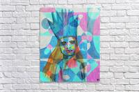 Woman in blue-5  Acrylic Print
