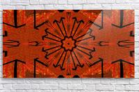 Lotus In Flames 1  Acrylic Print