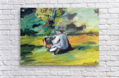 Painter at Work by Cezanne  Acrylic Print
