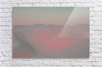 Misty Desert  Acrylic Print