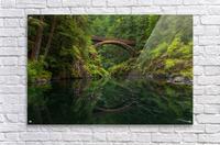 Wooden Bridge  Acrylic Print