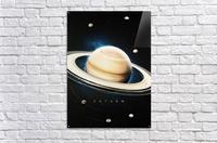 Destination Saturn  Acrylic Print