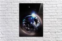 Cosmic Sapphire  Acrylic Print