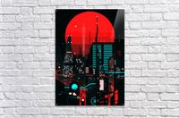 Neon City  Acrylic Print