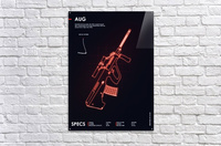 AUG CSGO WEAPON  Acrylic Print