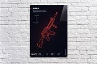 M4A4 CSGO WEAPON  Acrylic Print