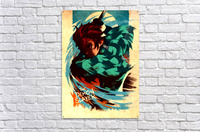Tanjiro DEMON SLAYER  Acrylic Print