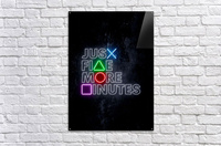 JUST FIVE MORE MINUTES  Acrylic Print
