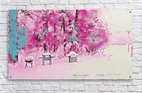 Backyardinsnow p  Acrylic Print