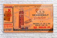 1948 LSU vs. Vanderbilt  Acrylic Print