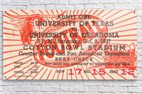 1937 Oklahoma vs. Texas  Acrylic Print