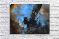 North American and Pelican Nebula  Acrylic Print