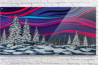 Snowy Trees Chinook Art IMG_0180  Acrylic Print