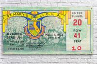 1932 St. Marys vs. UCLA  Acrylic Print