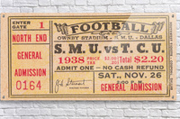 1938 TCU vs. SMU  Acrylic Print