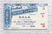 1945 USC vs. UCLA Game 2  Acrylic Print