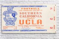 1945 USC vs. UCLA   Acrylic Print