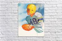 1948 Lon Keller Football Art  Acrylic Print