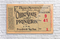 1927 Ohio State vs. Princeton   Acrylic Print