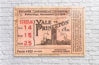 1926 Yale vs. Princeton  Acrylic Print