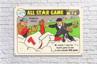 1979 All Star Game Baseball Art  Acrylic Print