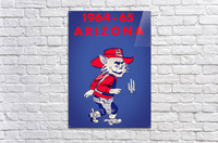 1964 Arizona Wildcat Art  Acrylic Print
