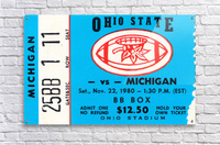 1980 Ohio State vs. Michigan  Acrylic Print