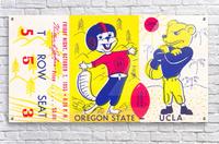 1955 Oregon State vs. UCLA  Acrylic Print