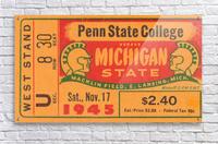 1945 Michigan State vs. Penn State  Acrylic Print